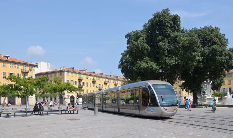 Tram à Nice